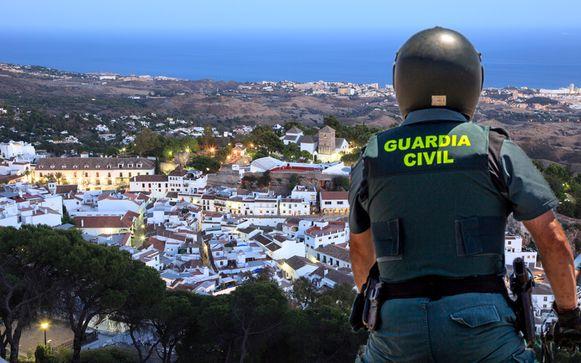 Agenten van de Guardia Civil kenden de exacte locatie van de vrouw niet, maar vonden de vrouw terug in een afgelegen boerderij in Mijas.
