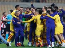 Uitblinkers Frenkie en Messi helpen Koeman aan eerste hoofdprijs bij swingend Barcelona