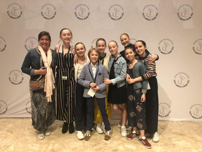 Balletschool Raymonda heeft hoge ogen gegooid op de internationale wedstrijd YAGP in New York.