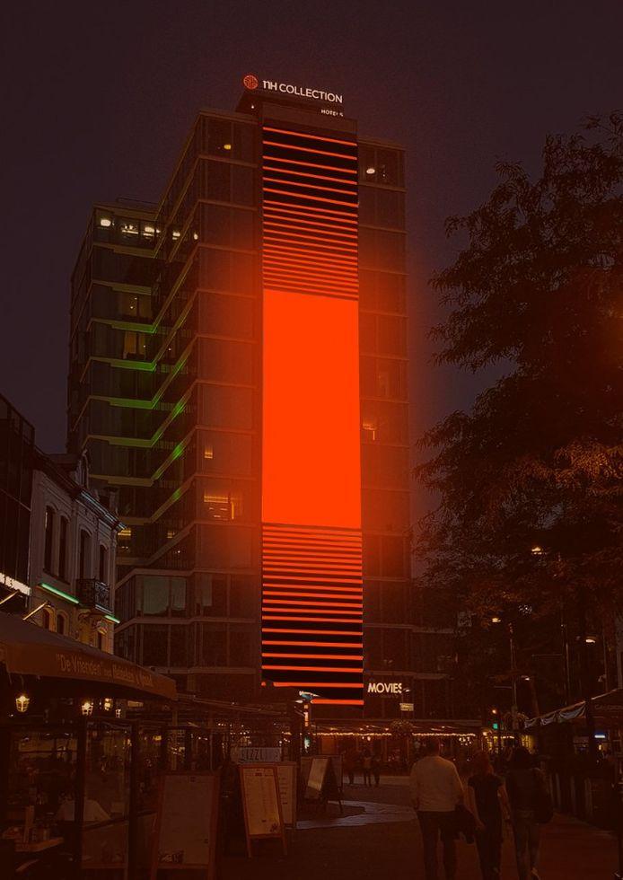 NH Hotel tijdens Glow