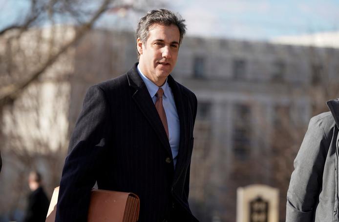 Michael Cohen, de voormalige advocaat van Donald Trump.