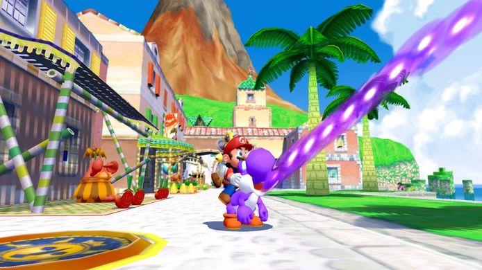 Super Mario Sunshine.