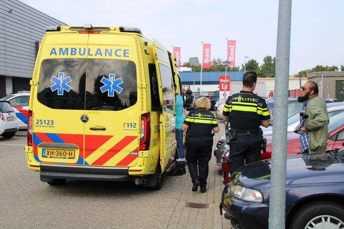 Bij een ongeval in Lelystad raakte een voetganger gewond.
