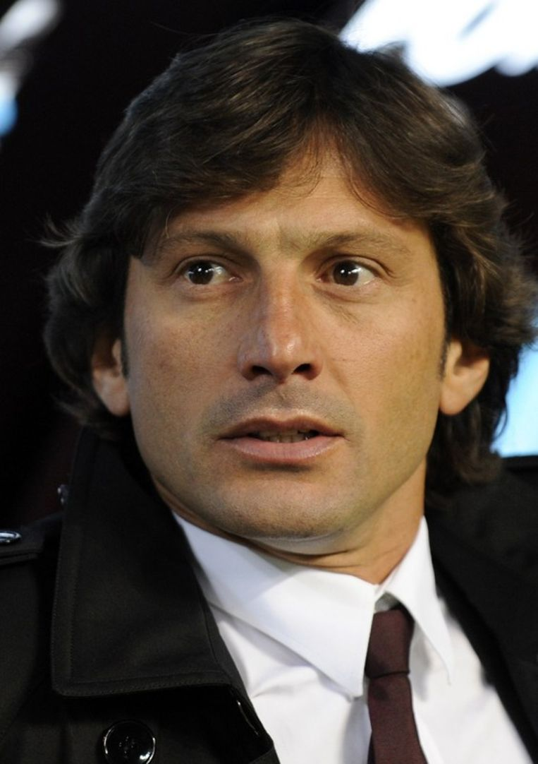 Coach Leonardo vreesde toen voor een nieuwe afgang. Beeld UNKNOWN