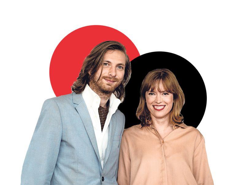 Vincent van der Valk (links) en Maria Kraakman (rechts) Beeld ANP