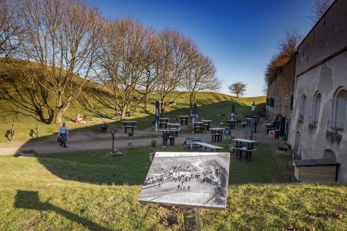 Fort Sabina bij Heiningen moet uitgroeien tot een toeristisch-recreatieve trekpleister.