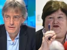 """Maggie De Block et Herman Goossens en désaccord sur la quarantaine à domicile: """"Un à la cave, l'autre au grenier, ça n'a pas de sens"""""""