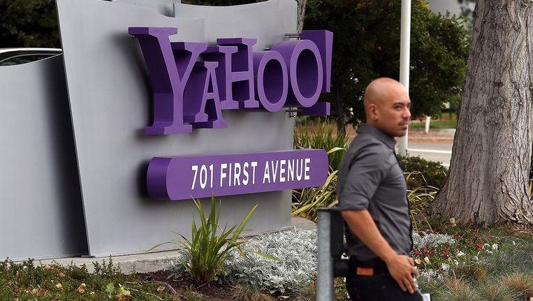 Het Yahoo-hoofdkantoor in Sunnyvale, Californië. Beeld getty