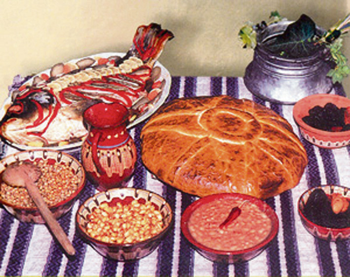 Geen pepernoten en chocoladeletters tijdens Sinterklaas in Bulgarije, maar dit feestmaal.
