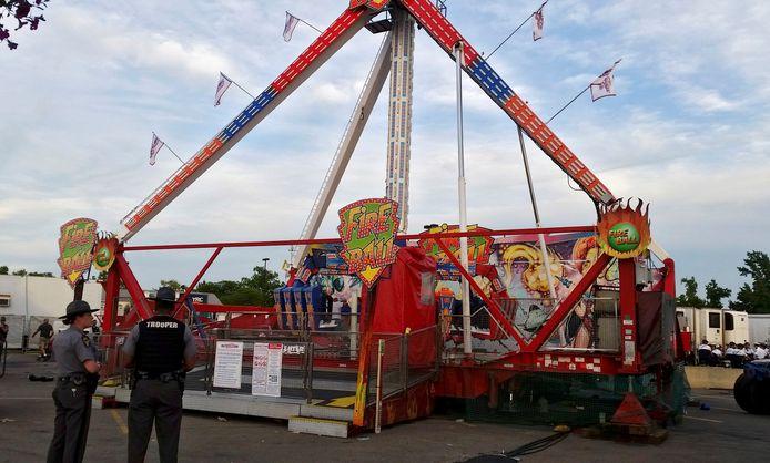 De Fireball-attractie is stilgelegd na het dodelijke ongeluk.