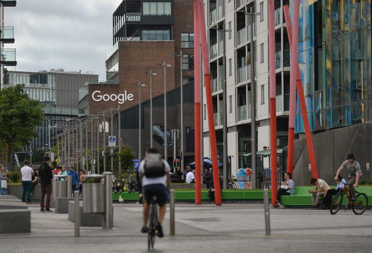 Het Europese Google-hoofdkantoor in Dublin, Ierland.  Beeld NurPhoto via Getty Images