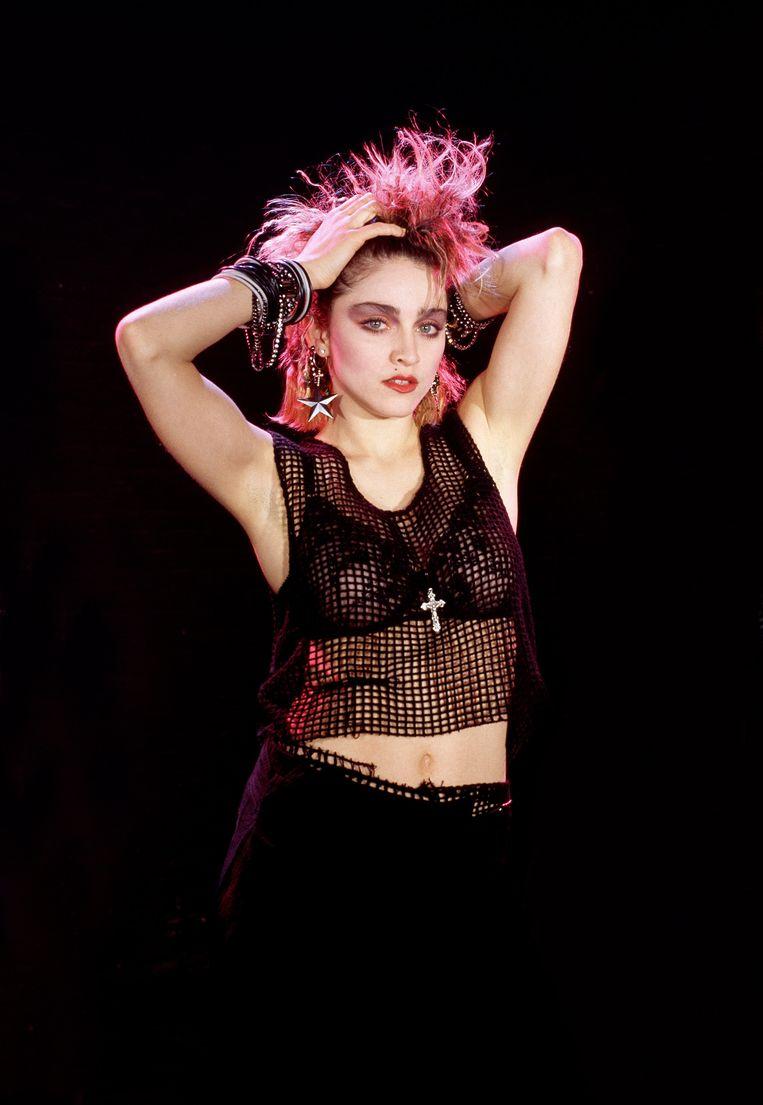 Madonna in 1984. Beeld Hollandse Hoogte / Kees Tabak