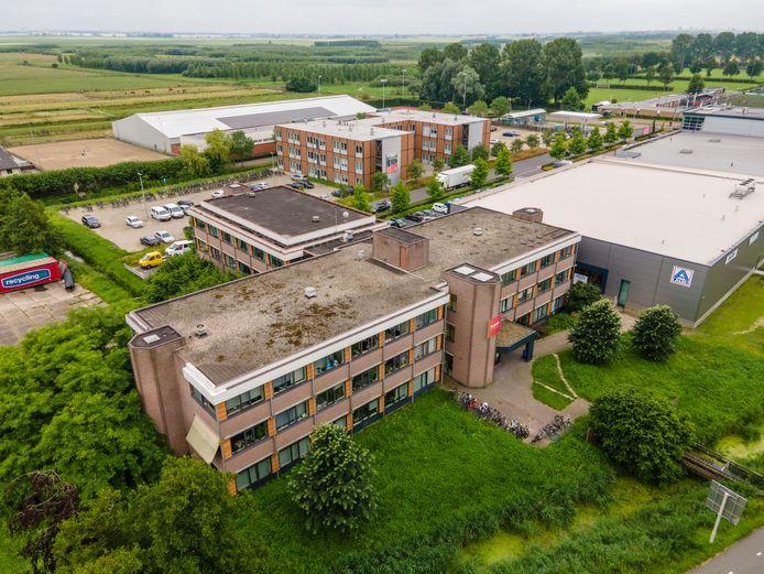 Het voormalige veilingterrein in Boskoop-Oost is in beeld voor huisvesting van arbeidsmigranten.