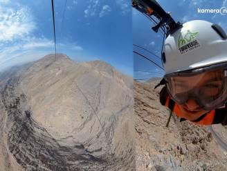 Langste kabelbaan ter wereld zorgt voor adembenemende beelden