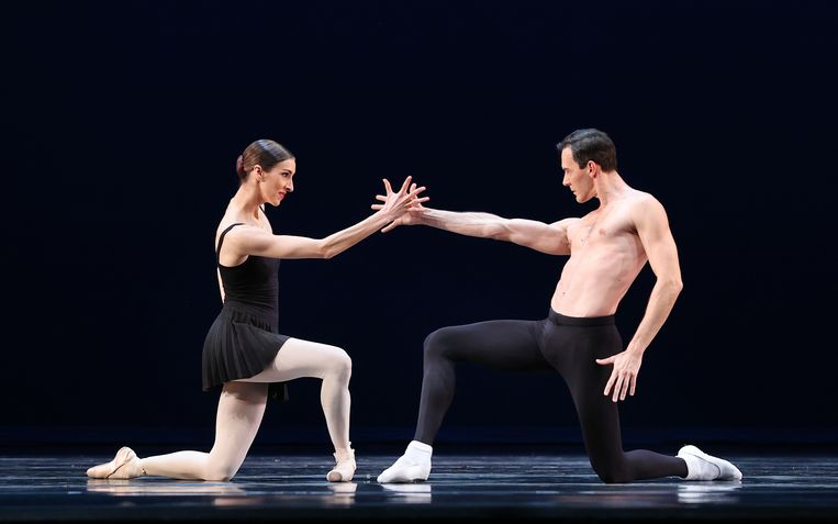 Het Nationale Ballet presenteert Hans van Manen. Beeld