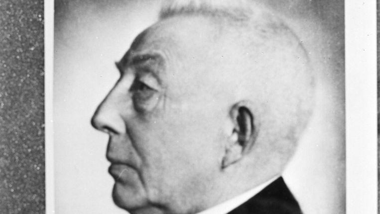 Portret van ARP-politicus Hendrik Colijn (Burgerveen, 22 juni 1869 ¿ Ilmenau, 18 september 1944). Van 1925 tot 1926 en van 1933 tot 1939 was hij van vijf kabinetten voorzitter van de ministerraad (minister-president). Beeld anp