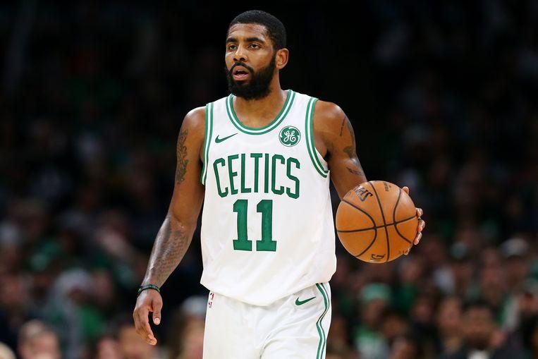 Kyrie Irving scoorde 24 punten voor de Boston Celtics.