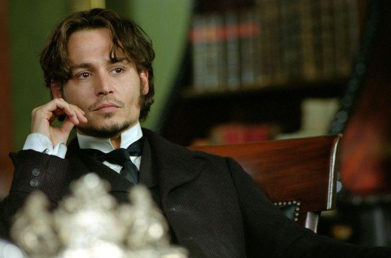 Johnny Depp in 'From hell'. Beeld rv