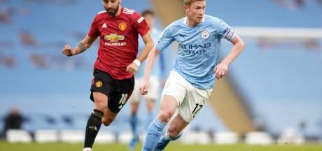 Manchester City et De Bruyne champions d'Angleterre après la défaite de Man U face à Leicester