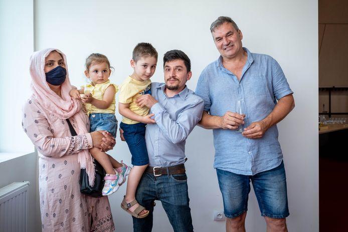 De familie Sadeq is Rudy Gevaert eeuwig dankbaar.