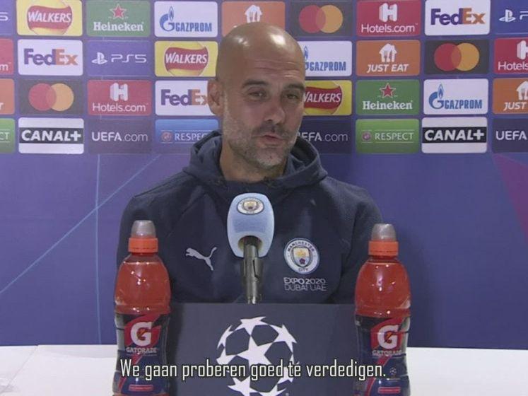 Guardiola: 'Geen idee hoe we PSG moeten stoppen'