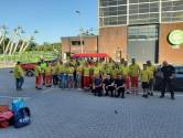 Hulpverleners uit regio Rotterdam helpen mee in Limburg vanwege wateroverlast