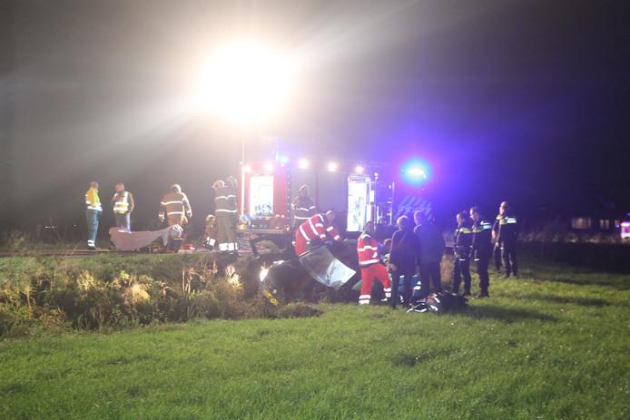 Vrouw gewond bij ongeval Grintweg Rosmalen