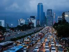 'Zinkend' en druk Jakarta wordt vervangen als hoofdstad van Indonesië