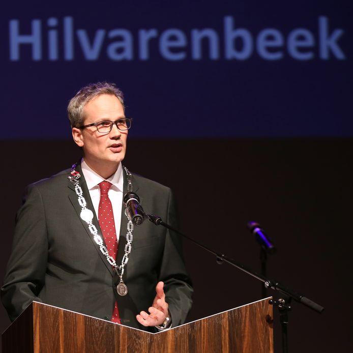Burgemeester Evert Weys.