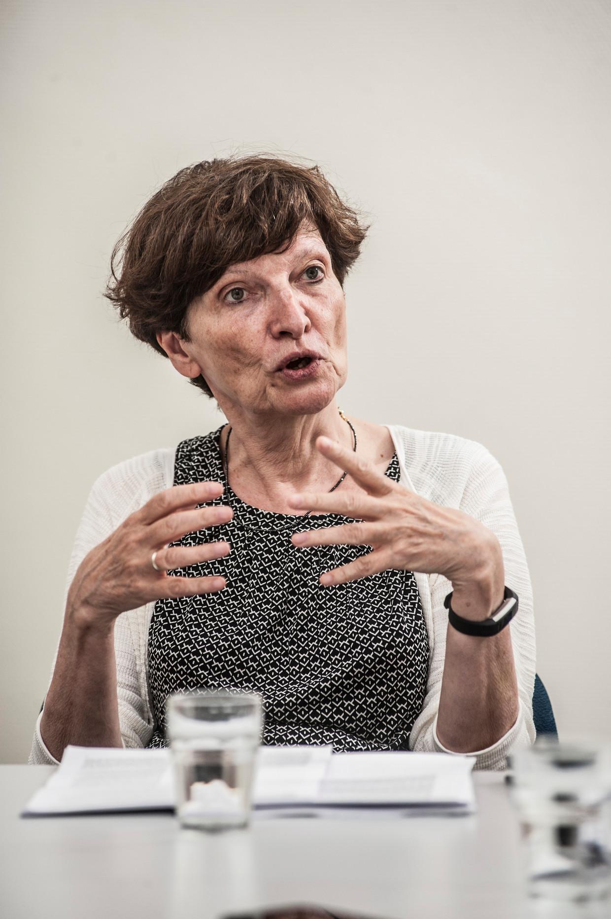 Frieda Matthys: 'Je mag ook niet onderschatten wat de huidige mediaberichtgeving met mensen doet.' Beeld Marco Mertens / Humo
