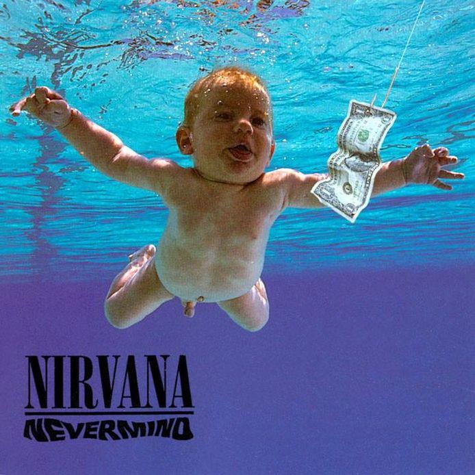 De beroemde cover van Nevermind van Nirvana.