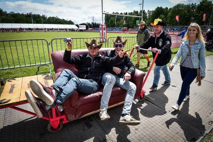 Tovert de Dendermonde Rugby Club de sportcampus in augustus om tot sport- en partysite voor de Flanders Open Rugby ? De club zit alvast in de startblokken.