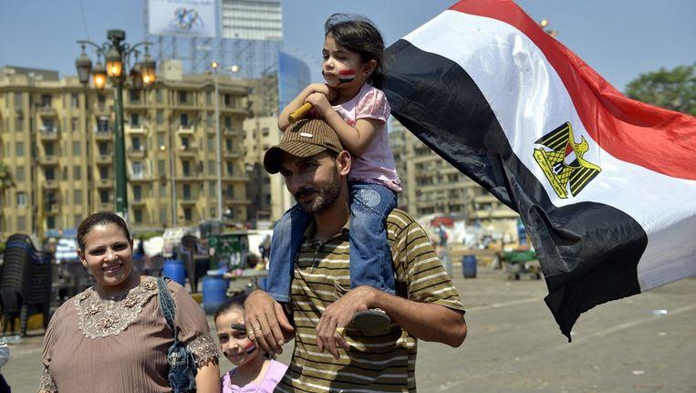 Het Tahriplein in Egypte. Beeld afp