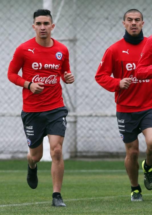 Felipe Gutierrez traint bij de Chileense ploeg.