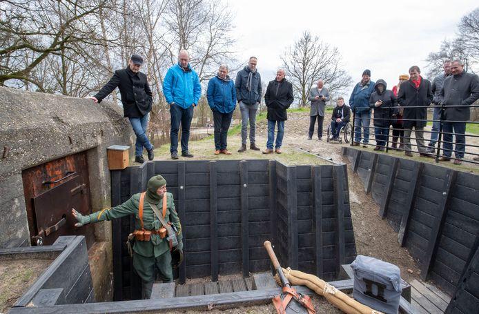 Het zuidelijk deel van het voormalige Fort aan de Buursteeg werd in februari 2020 overgedragen aan Staatsbosbeheer.