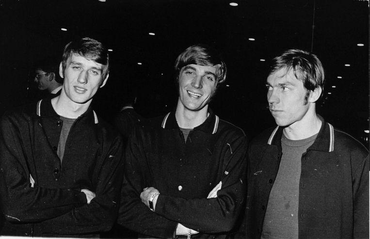 Ruud Krol, Rob Rensenbrink en Jan Mulder. Beeld ANP