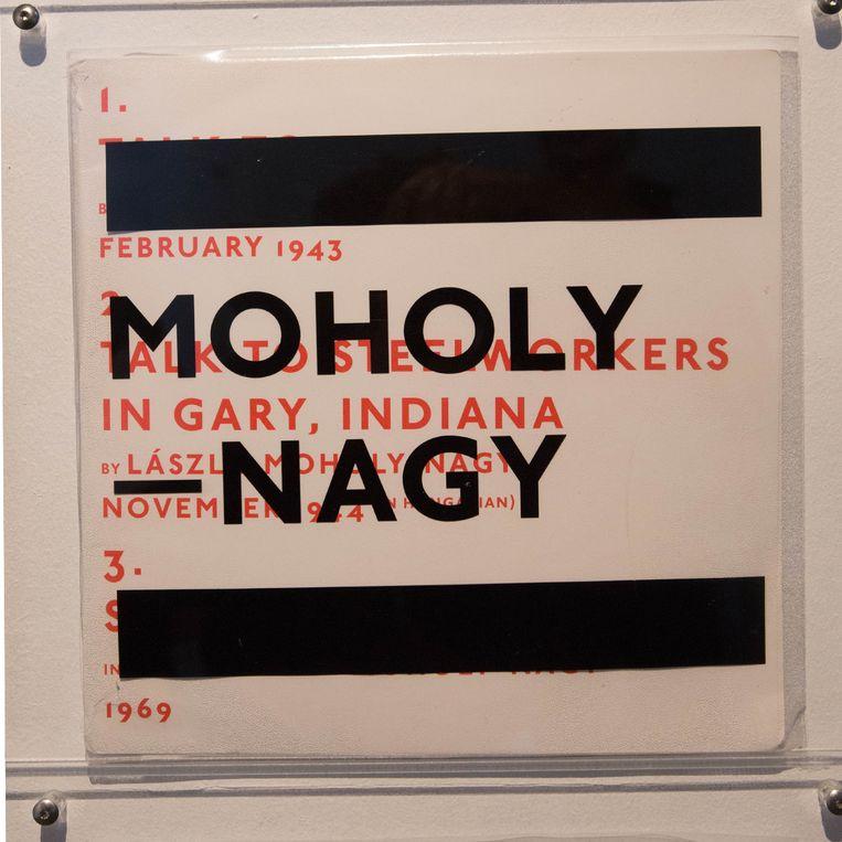 'LP 24725' door László Moholy-Nagy. Beeld Thomas Legreve