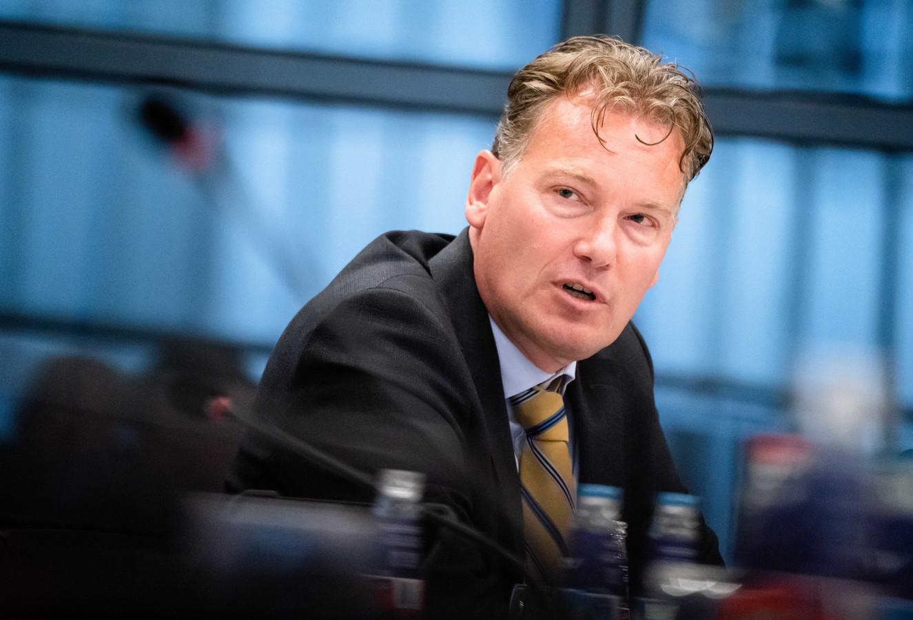 Directeur van het Centraal Planbureau Pieter Hasekamp.