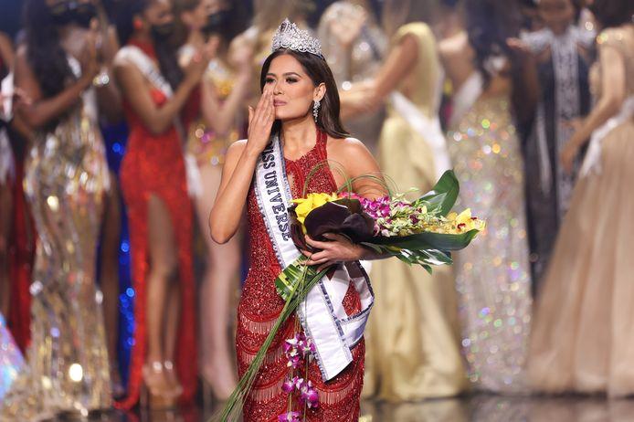 Miss Mexique Andrea Meza est la nouvelle Miss Univers.