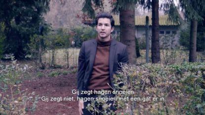 """""""Hagen snoeien? Zoek u een andere blo"""", Matteo Simoni hilarisch in promofilmpjes beHAAGt"""