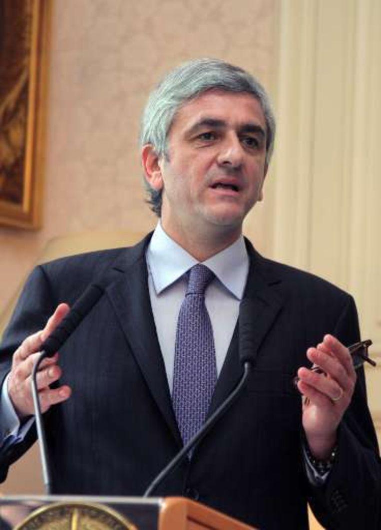 Hervé Morin, Frans minister van Defensie. Beeld UNKNOWN