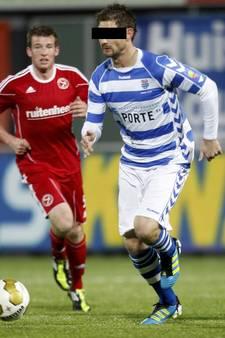 Oud-profspeler FC Zwolle Ruud ter H.  vast voor steekpartij