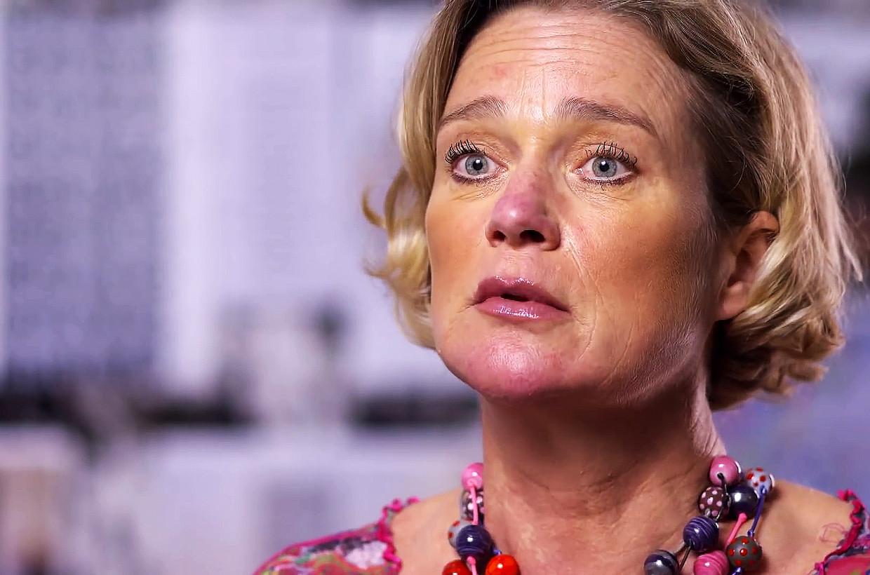 Prinses Delphine werd geïnterviewd door het Australische programma '60 Minutes'. Beeld 9News