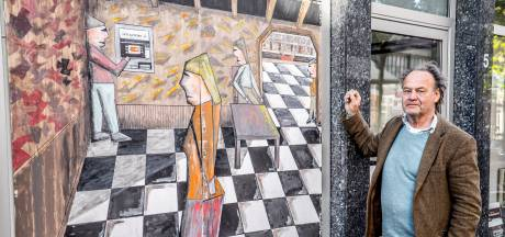 Tijn Noordenbos wil eenzame jongeren aan het creëren zetten: 'Zonder mijn kunst vrat ik stenen uit muur'