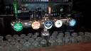 Het bier op de tap van Loetje in Arnhem.