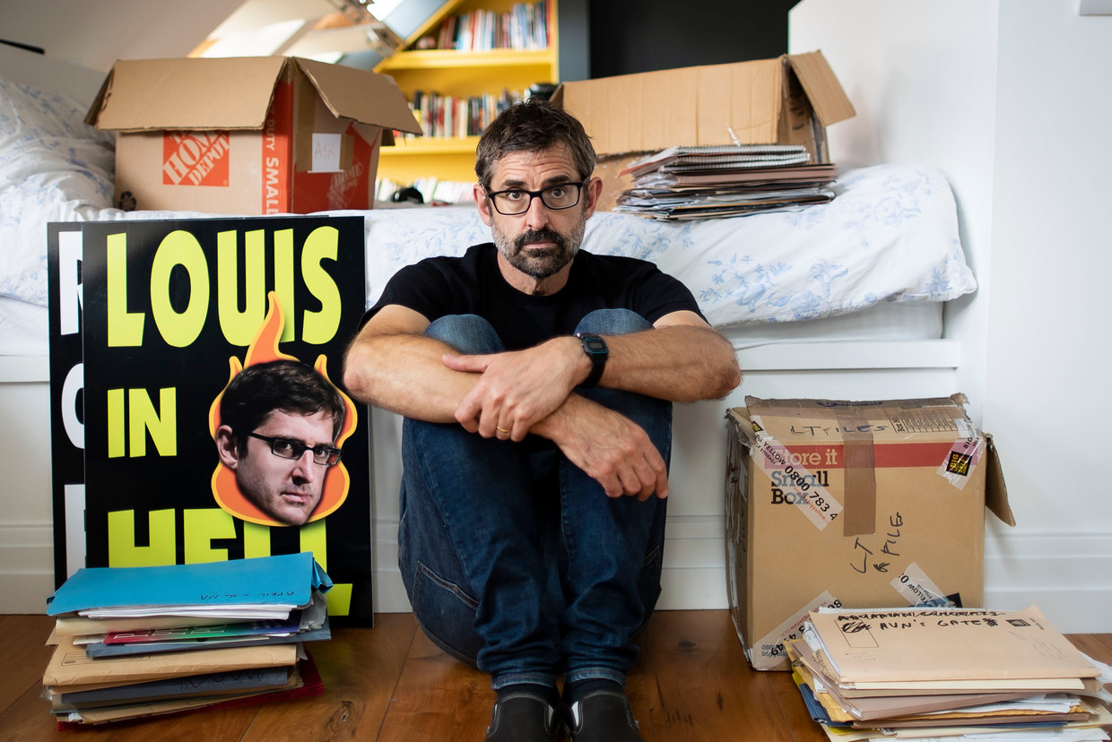 Louis Theroux: Life on the Edge -  DOCUMENTARY (GBR-2020) -   Caption: Louis Theroux Beeld BBC