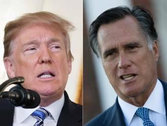 """Romney: """"Trump in 2024 Republikeinse presidentskandidaat als hij wil"""""""