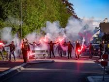 Invasie van NAC-fans met vuurwerk in Bosschenhoofd: 'Maar ze hebben het netjes opgeruimd hoor'