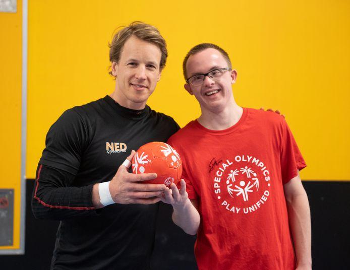 Epke Zonderland en Erik van Loenen bij A Touch of Gold.