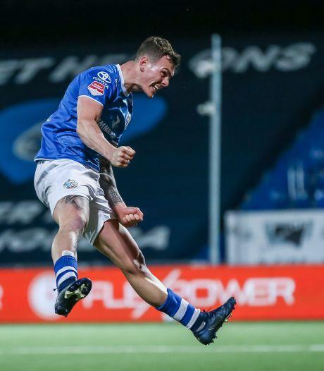 Ook ziek schiet Jizz Hornkamp zijn penalty's binnen voor FC Den Bosch